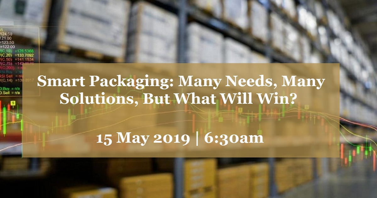 Smart Packaging: Many Needs, Many Solutions, But What Will Win?