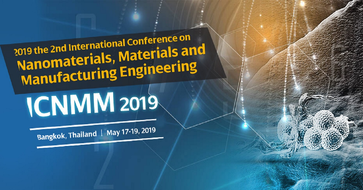 International Conference on Nanomaterials, Materials and Manufacturing Engineering