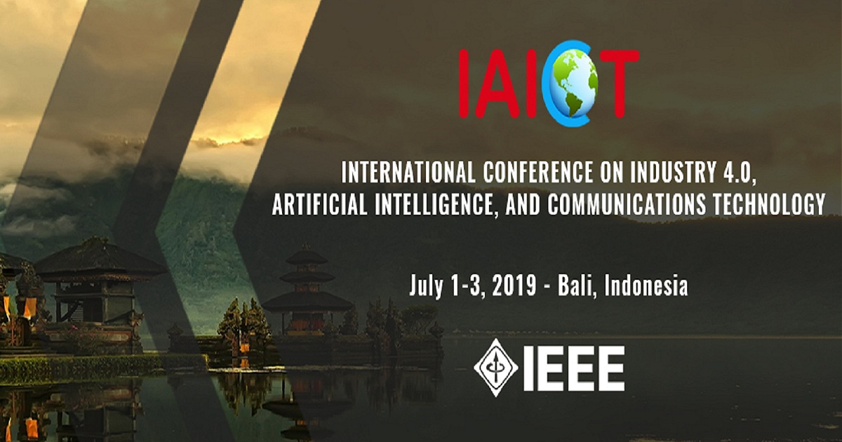 International Conference on Industry 4.0, Artificial Intelligence, and Communications technology