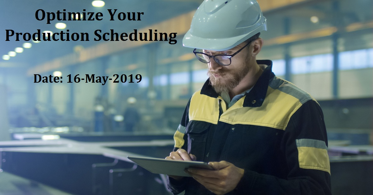 Optimize Your Production Scheduling