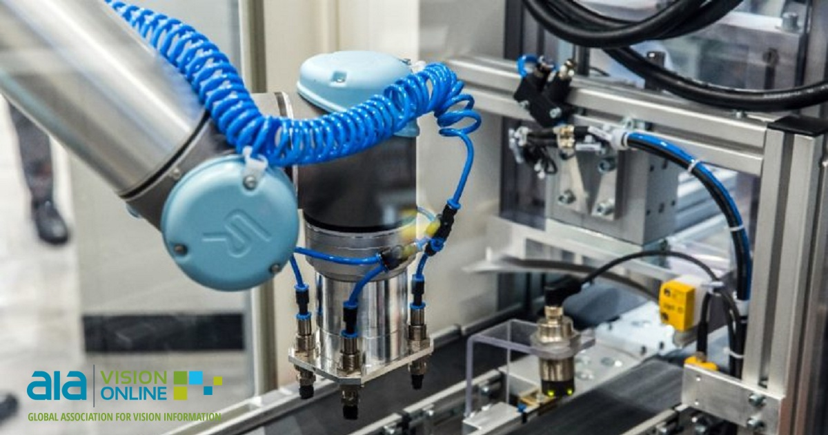 The Intersection of AI, Collaborative Robots and Machine Vision