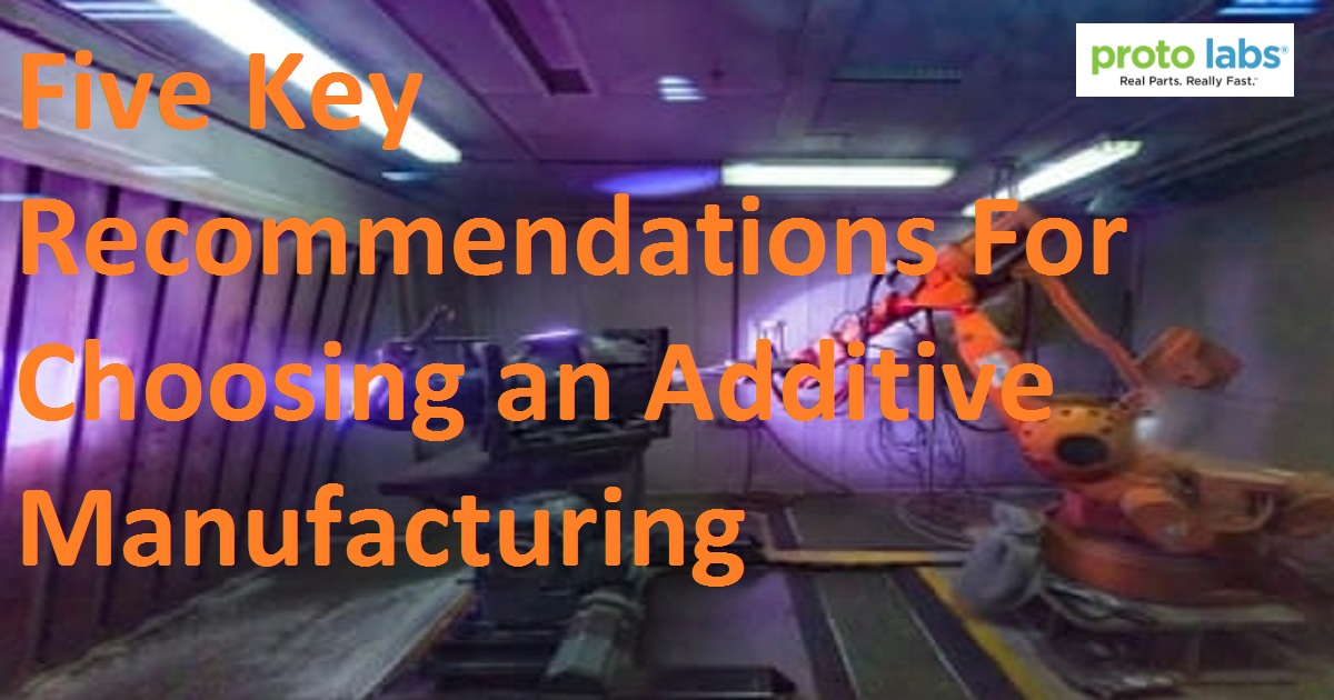 Five Key Recommendations for Choosing an Additive Manufacturing File Format