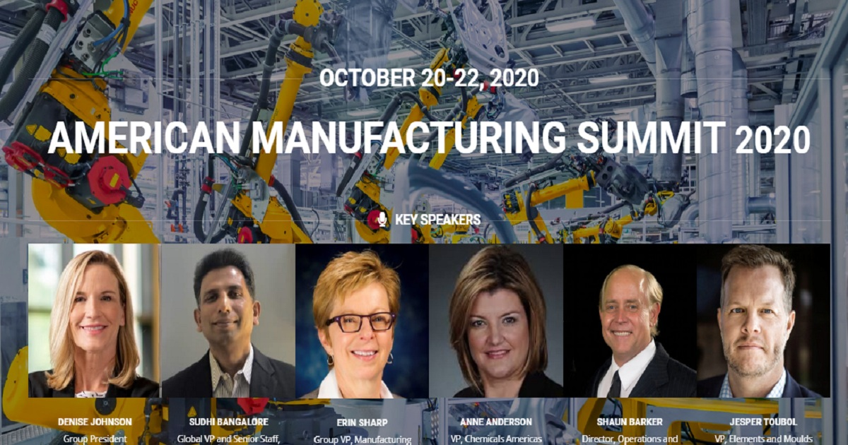 AMERICAN MANUFACTURING SUMMIT 2020