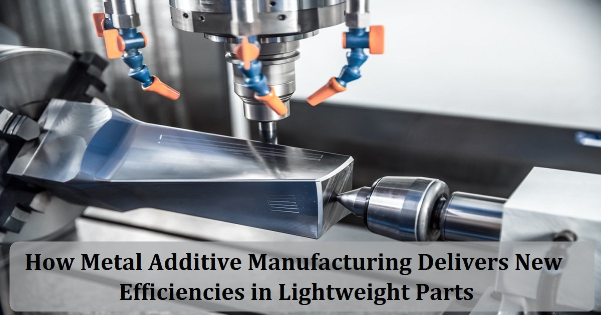 How Metal Additive Manufacturing Delivers New Efficiencies in Lightweight Parts