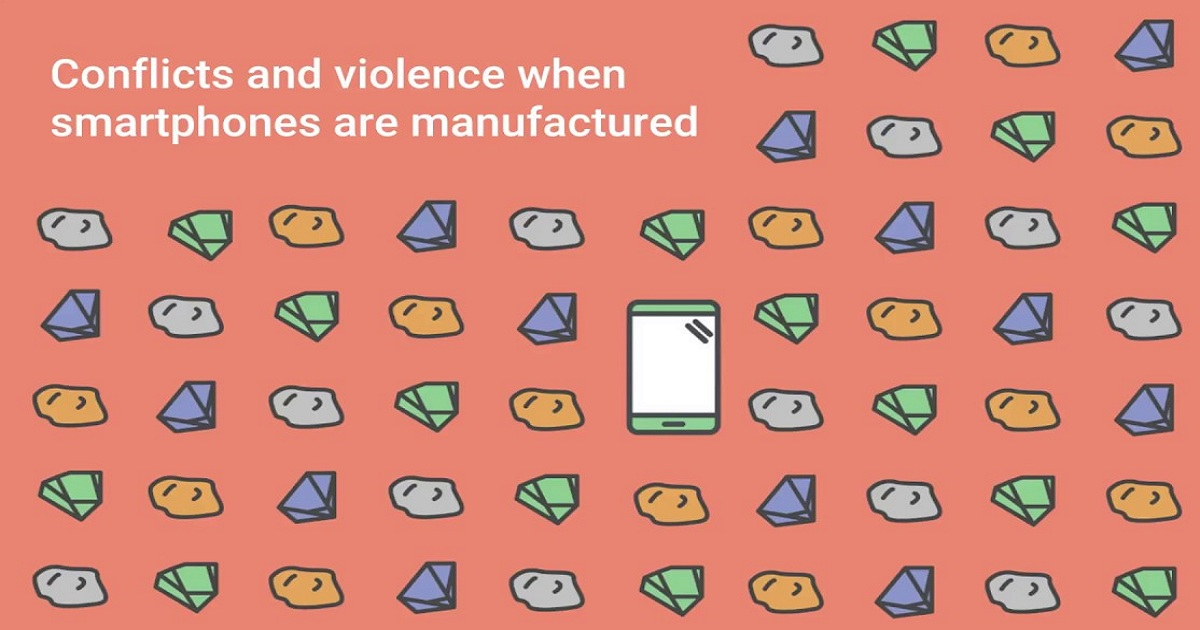 Conflicts and violence when smartphones are manufactured