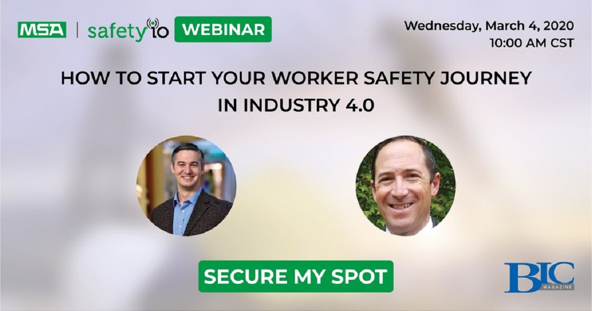 How to start your worker safety journey in industry 4.0