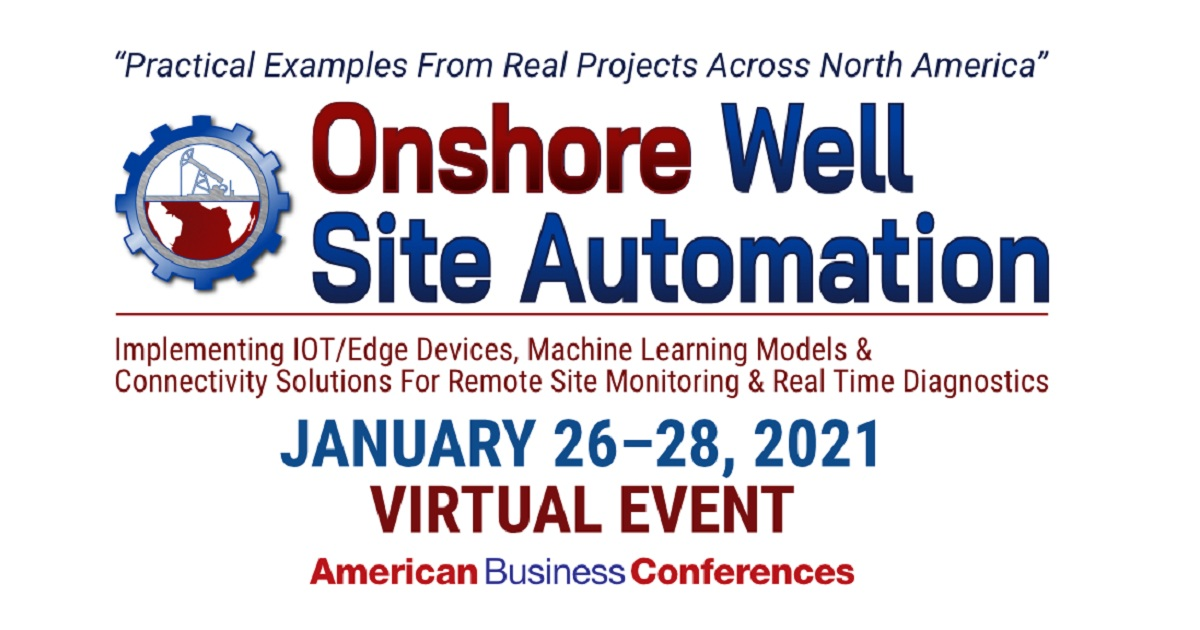 Onshore Well Site Automation 2021