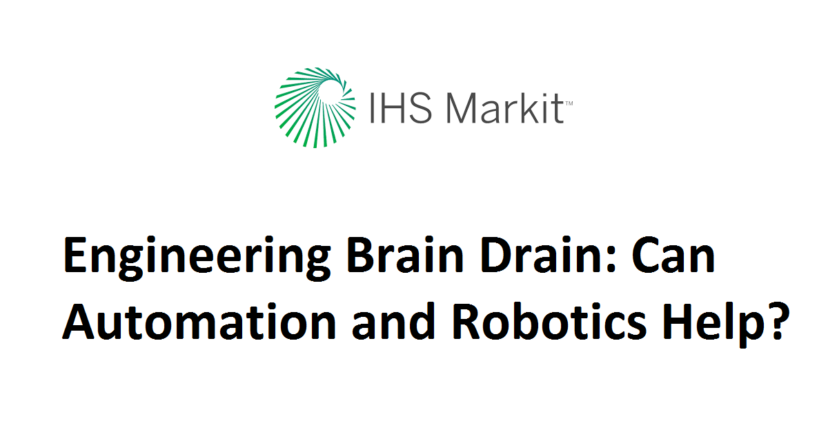 Engineering Brain Drain: Can Automation and Robotics Help?